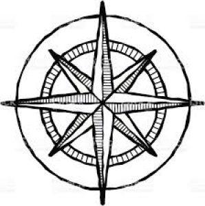 compass rose eudaimonia human flourishing